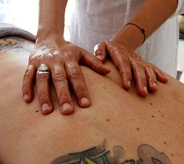 massage tuina, massage du dos